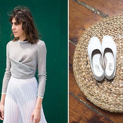Mari Giudicelli's luxury shoe line