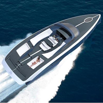 Bugatti unveils luxury yacht Niniette