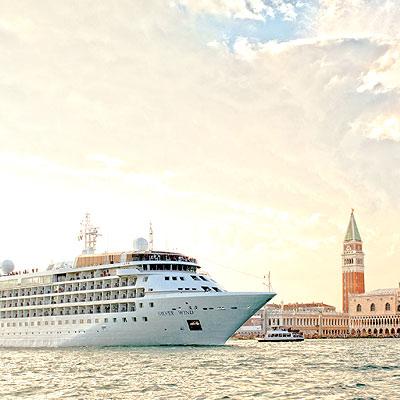 Rebranded Silversea cruises