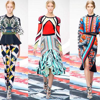 couture posh print