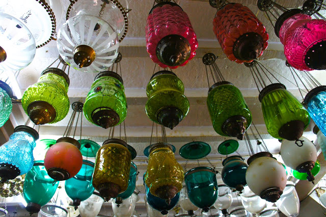 ROBBER'S CAVE | From exquisite nautical pieces to old English teapots and then dazzling rainbow lights such as these, Chor Bazaar has it all