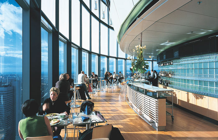 FLAVOURS ON HIGH |The main tower in Frankfurt is a mark on the cityscape and so is the restaurant here which combines stunning views with sumptuous cooking