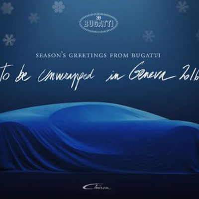 Bugatti Chiron to top out at 467 km/hr