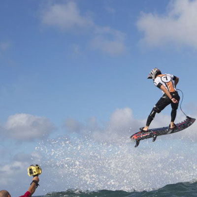 Jet-propelled, planet-friendly surfboard from JetSurf