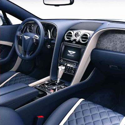Bentley's freshest: bespoke rare-stone veneers