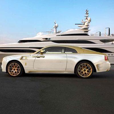 Rolls-Royce Wraith Mansory Palm Edition 999