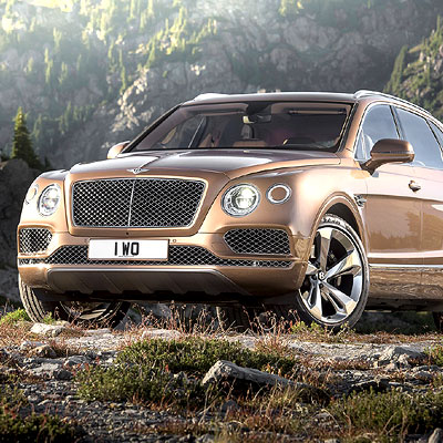 The Bentley Bentayga: Her Majesty's steed nonpareil