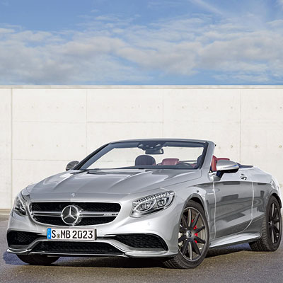The new mercedes