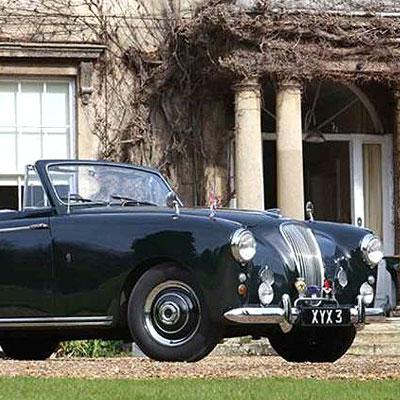 H & H Auctions Prince Philip's 1954 Aston Martin Lagonda