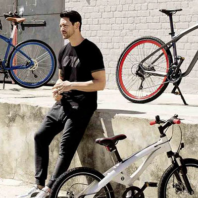 City-ride summer bicycles from BMW