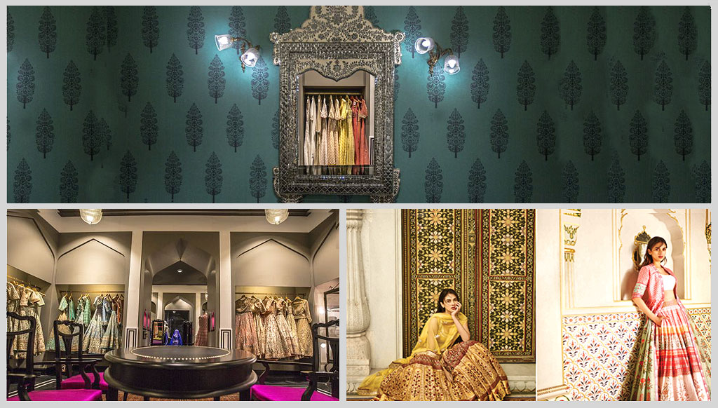 Anita dongre s brand new bridal boutique in mumbai for Best boutique hotels in mumbai