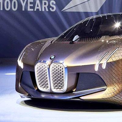 BMW's concept car Vision Next 100 marks centennial anniversary