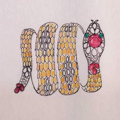 Bulgari's Serpenti Form exhibition in Rome