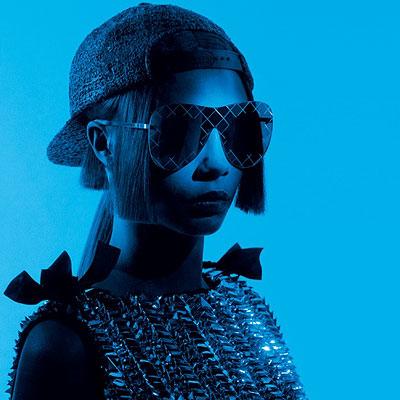 Cara Delevingne fronts Chanel's eyewear campaign