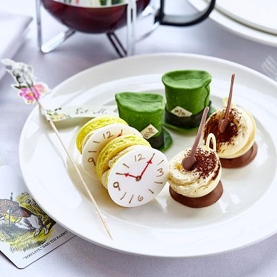 Mad Hatter's afternoon tea at One Square Edinburgh
