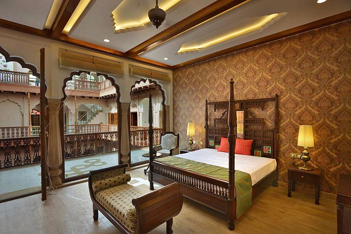 OLD NOTES, NEW SONGS | Spacious accommodations, splendid restaurant, and warm hospitality await you at the Haveli which is a doorway into an exclusive culture
