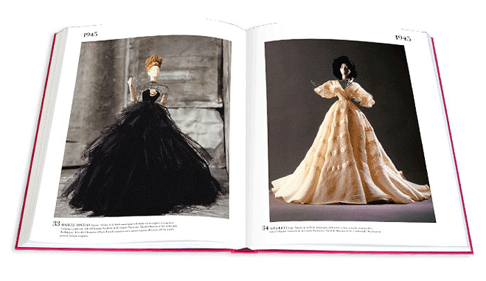 FASHION FLOURISH | 144 pages of fashion's history with 100 images of highly curated collections from the last 100 years