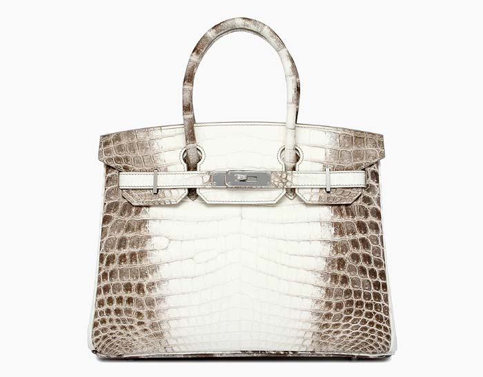 HERMES BIRKIN HIMALAYA | The Birkin is one of the most coveted of Hermes bags and notoriously difficult to get