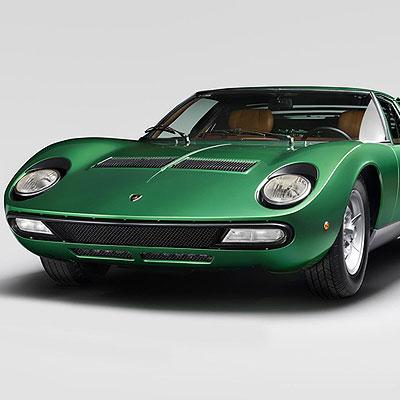 Lamborghini Miura Alfonso Borghi Exhibition