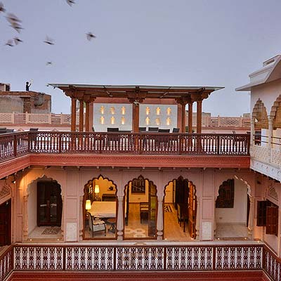 Reliving Old World Charm at Haveli Dharampura