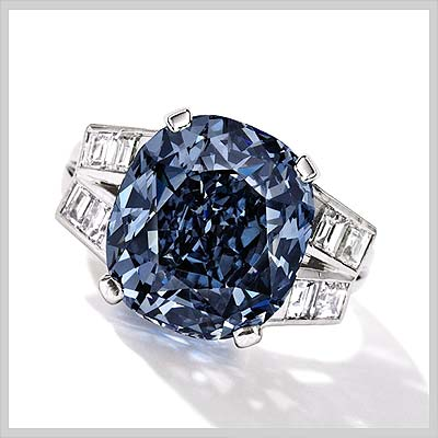 Shirley Temple Blue Diamond fails to sell