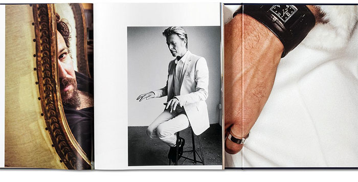 TESTINOS TOMES | The second one focuses less on Testino himself and more on the striking men captured by his lens