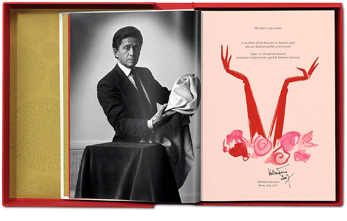 VALENTINO | Exclusive 2000 pieces, each of which are numbered and signed by the man himself