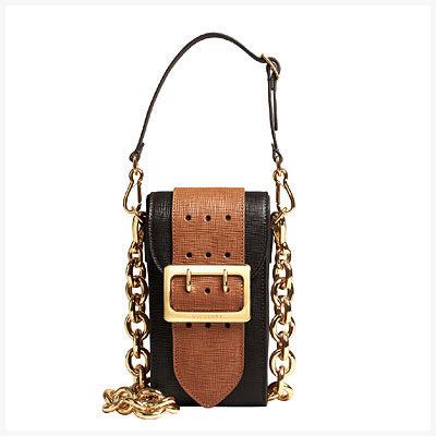 Burberry Belt Bag inspired by military styles of the early 90s