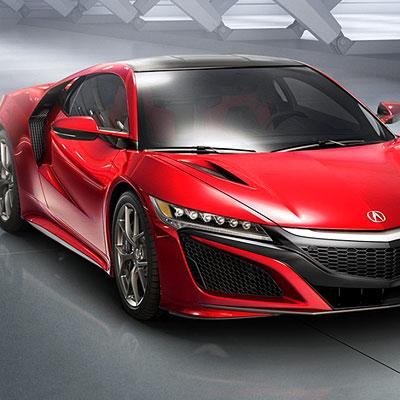 Acura NSX Hybrid Supercar
