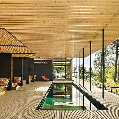 Forest Sauna House in Sweden