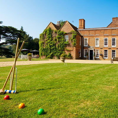 Experience the very British 'Afternoon Tea' at Flitwick Manor