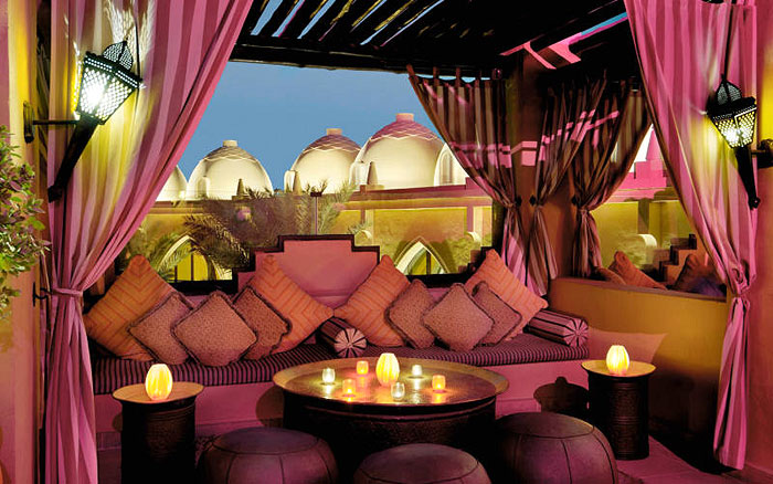 A HEADY TIPPLE | Relish the rich Arabian inspired ambience and lounge in style at the Rooftop in One&Only Royal Mirage