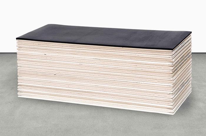KLARA LIDEN   Plasterboard panel and rubber, in ten parts, estimated at £20,000-30,000