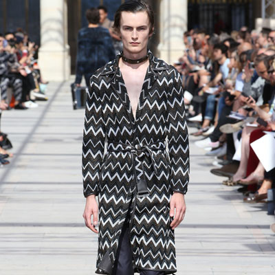 Louis Vuitton's SS 2017 collection combines African heritage with London Punk