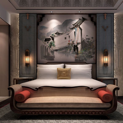 Opulence in Shanghai: first seven star waterfront hotel