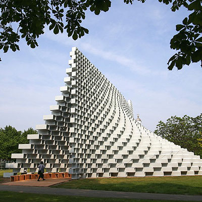 The Unzipped Wall: Serpentine Galleries 2016 Pavilion