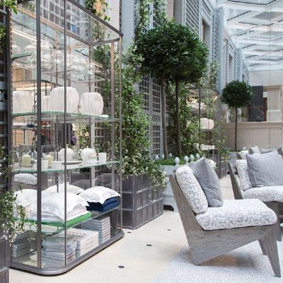 sprawling store designed