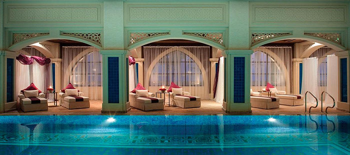 RELAXATION SUPREME | Pamper yourself with spa treatments and luxurious soaks in the hammams at the plush and pretty Talise Ottoman Spa at Jumeirah Zabeel Saray