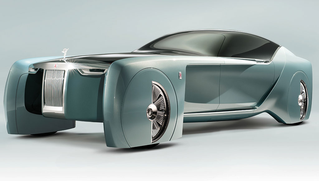 Turning 'What ifs' to 'What's Next': Rolls Royce Vision Next 100