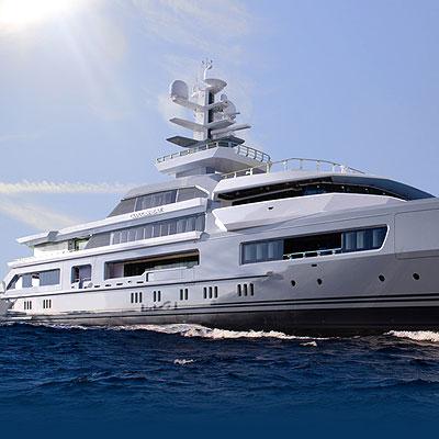 ultra glam yachts