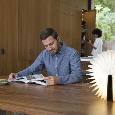 Lumio: The Bibliophile's dream lamp!