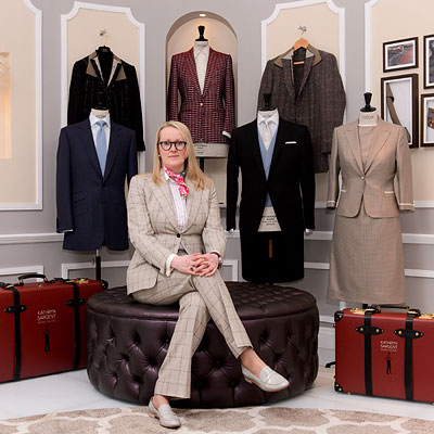 Stitching up history: Kathryn Sargent at Savile Row