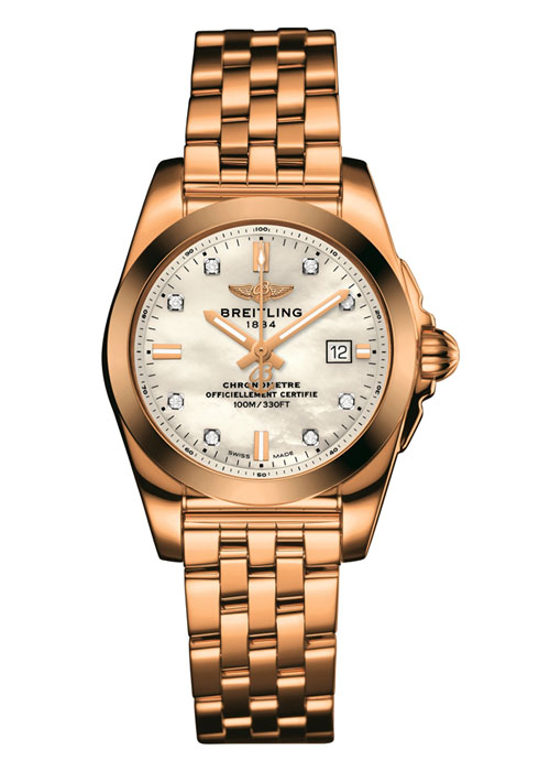 GALACTIC 29 | A Breitling ticking to women's time