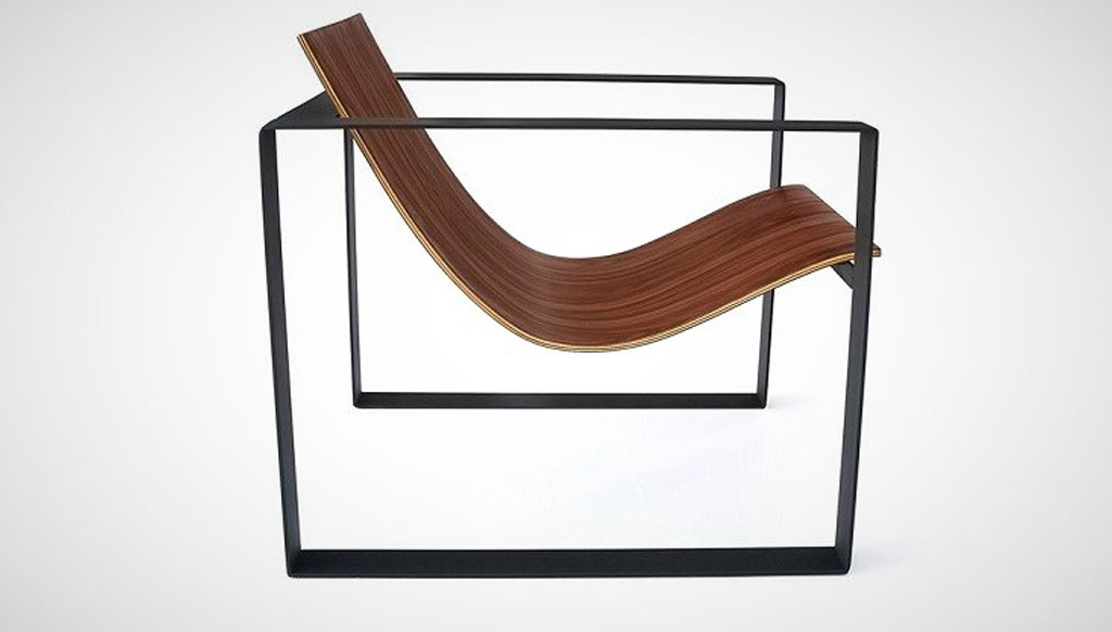 Automotive inspired lounge chairs from Philip Caggiano