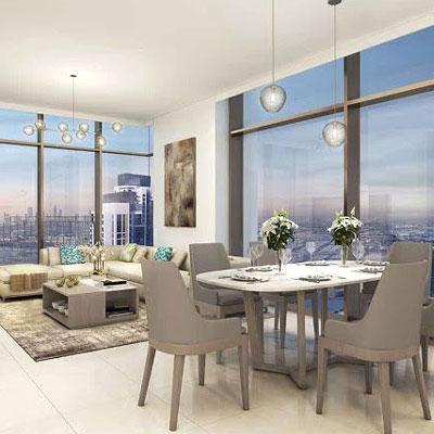 Creekside 18: Waterfront apartments in Dubai