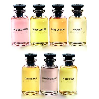 Bouquet of seven fragrances from Louis Vuitton