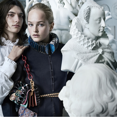 Burberry reveals elements from the September collection