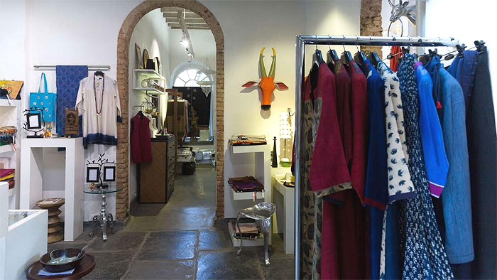 CINNAMON |Astore which is an architectural experience in itself, before being the one-stop shop for eclectic Indian designs and bespoke fashion and lifestyle wares