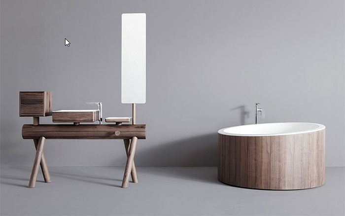 DRESSAGE | Tradition meets innovation in this cutting edge bathroom solution by Graff design