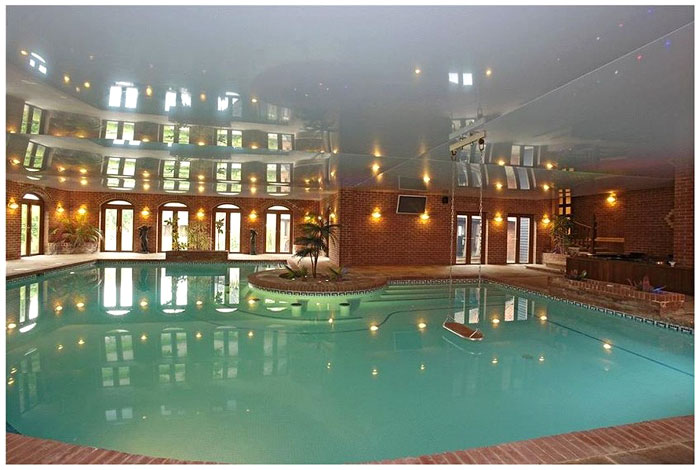 The Manor House boasts three swimming pools along with spa facilites